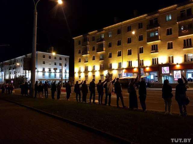 протести в Білорусі 22 вересня
