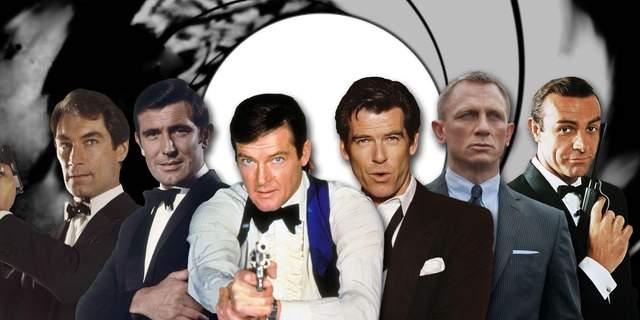 Всі агенти 007 в Голлівуді