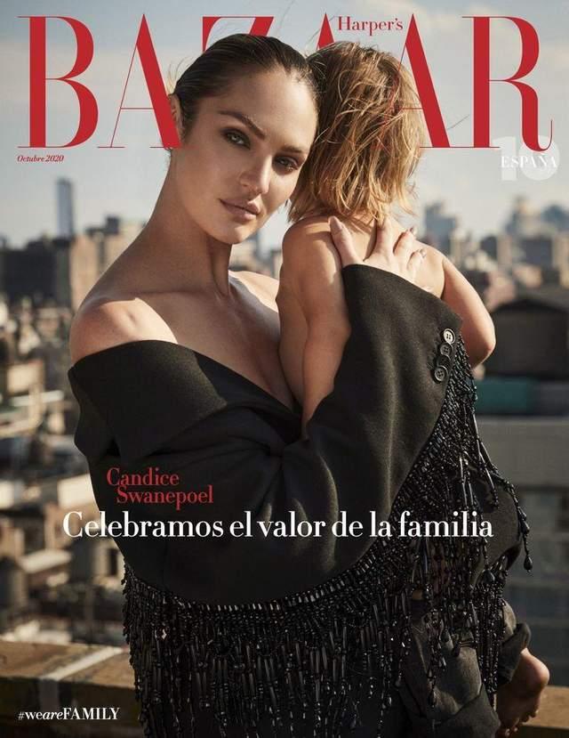 'Ангел' Victoria's Secret Кэндис Свейнпол обнажилась на обложке модного глянца: чудесные фото