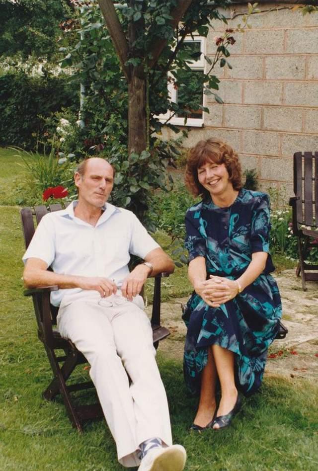 Тоні Вільямс з дружиною Джо