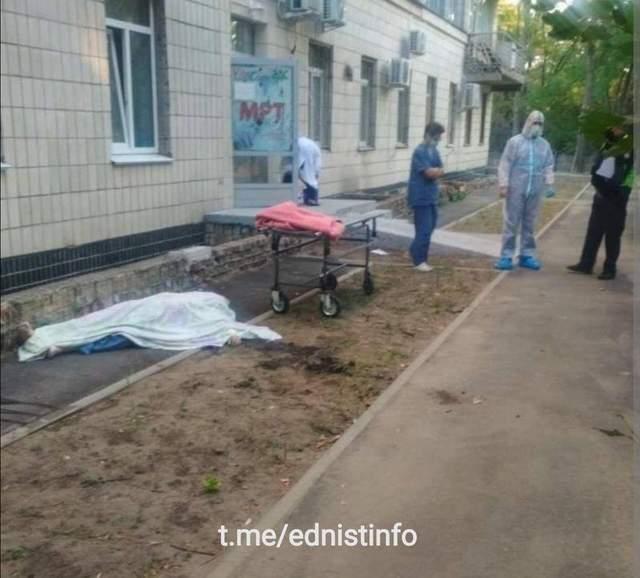Самогубства у лікарні в Києві