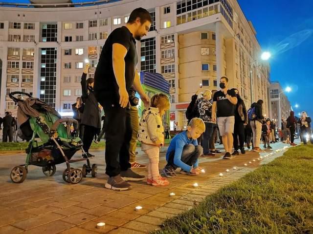 Розгін протестів у Білорусі 23 вересня після інавгурації
