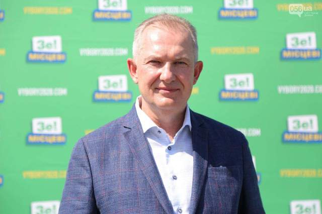 Сергій Риженко, місцеві вибори 2020, вибори мера Дніпра, 25 жовтня