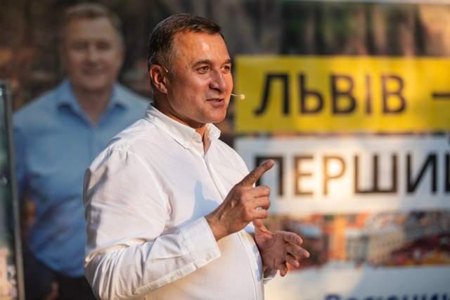 Васюник, кандидати в мери Львова, місцеві вибори 2020