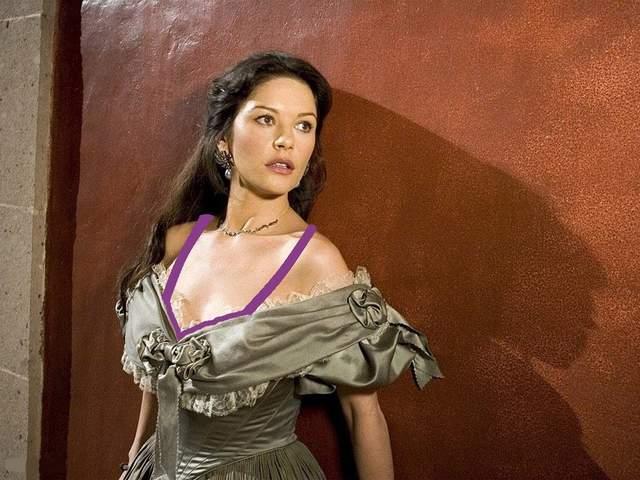 Кетрін Зета-Джонс у вінтажній сукні