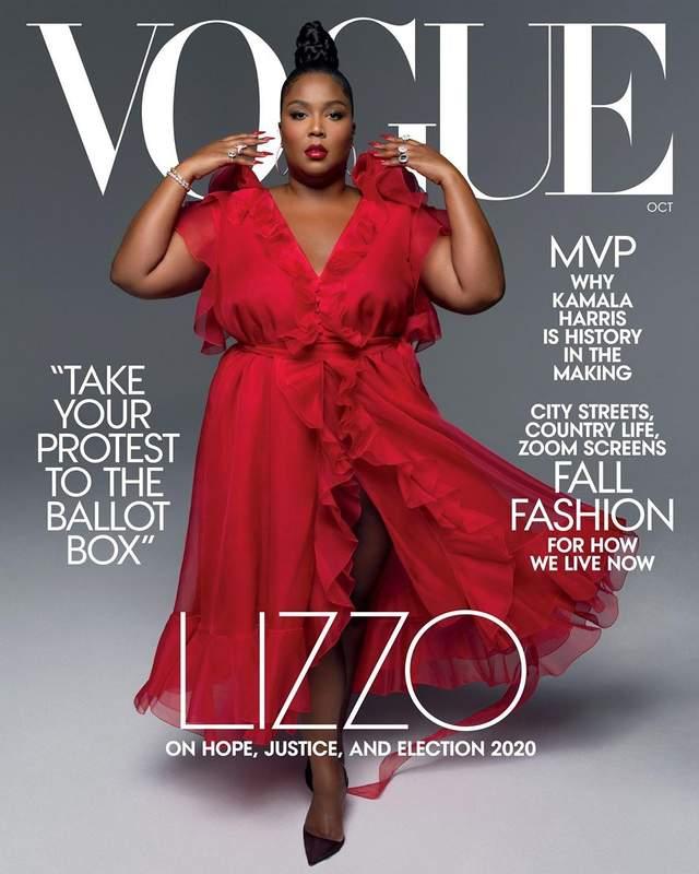 Lizzo для Vogue