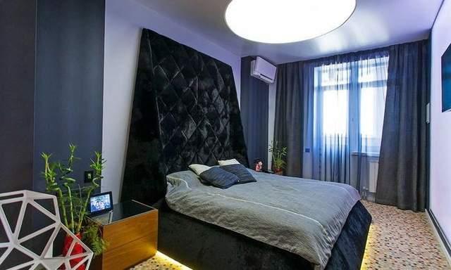 Кровать имеет уникальный авторский дизайн