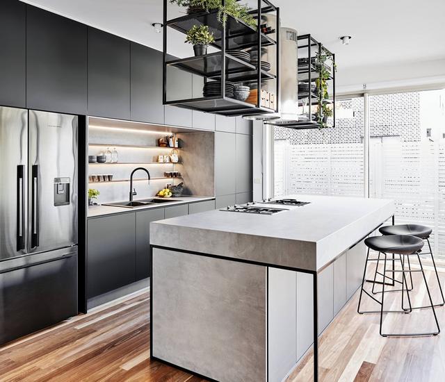 дизайн кухні з вбудованою технікою
