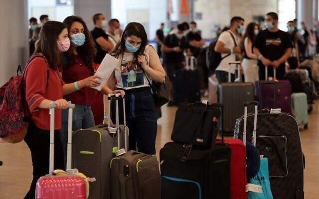 ізраїль аеропорт карантин