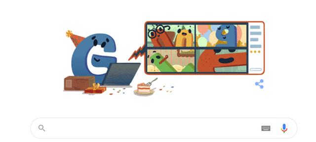 22 года со дня рождения Google: поисковик выпустил праздничный дудл