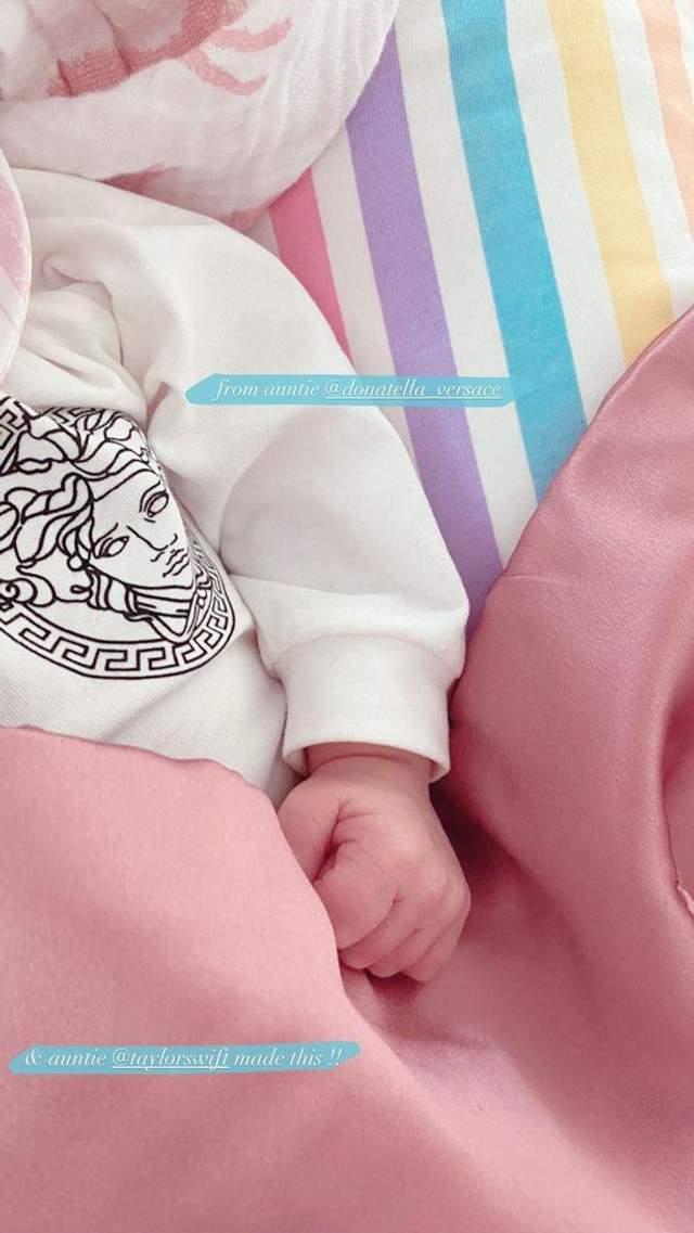 Новонароджена донька Джіджі Хадід