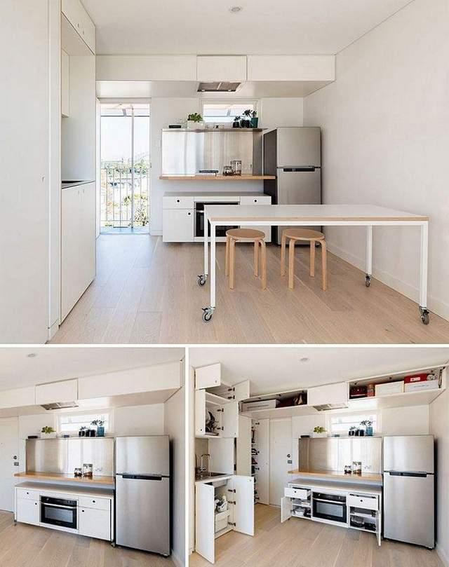 Как поместить стол в жилой гараж