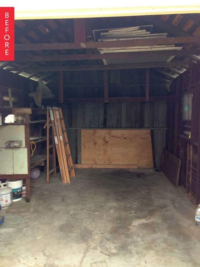 Помещение гаража можно превратить в жилое