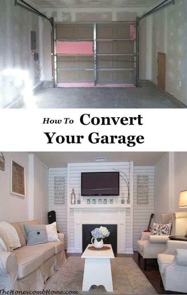 реальный пример  перевоплощения гаража