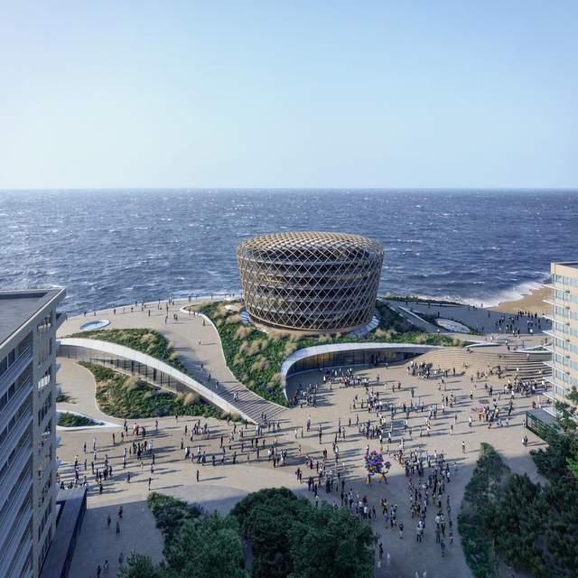 Песочная дюна: в Бельгии построят огромное казино рядом с Северним морем – фото