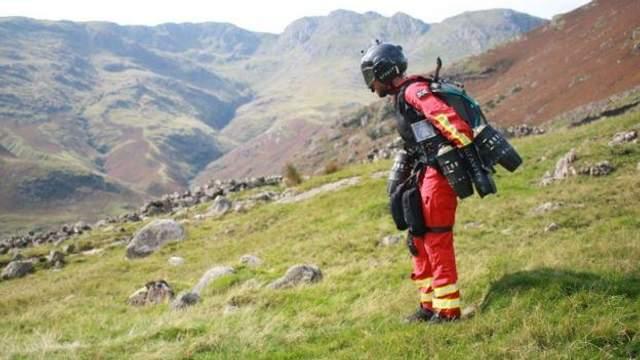 Рятувальний реактивний костюм
