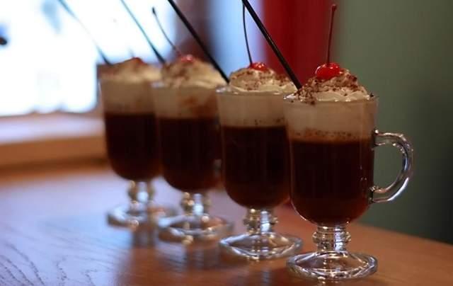 Рецепт кави з вишневим соком