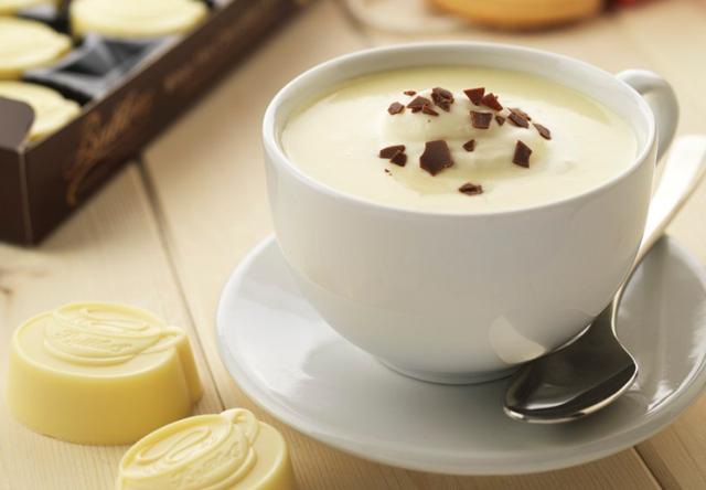 Рецепт кави з білим шоколадом