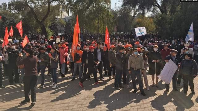 Киргизстан протести вибори