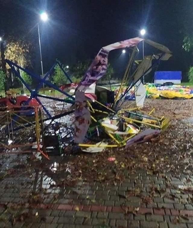 Відео/фото: Хустщина та Тячівщина найбільше постраждала від негоди