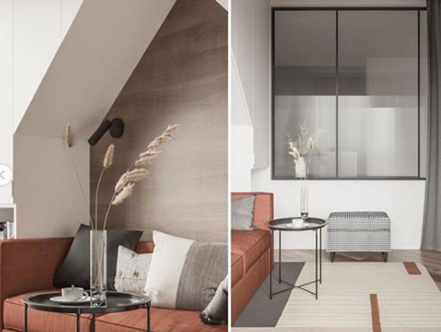Дизайнеры создали дополнительное межкомнатное окно