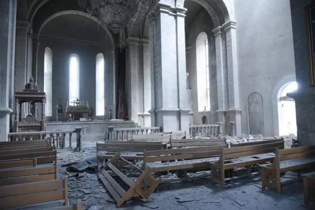 собор у Шуші обстріляли