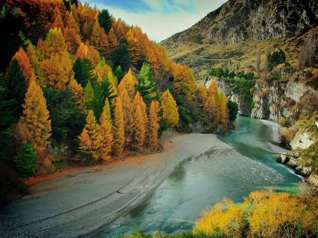 Осень в разных уголках мира (ФОТО) 17