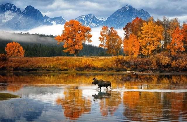 Осень в разных уголках мира (ФОТО) 1