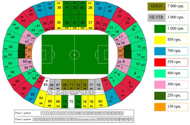 квитки на матч Динамо – Ювентус