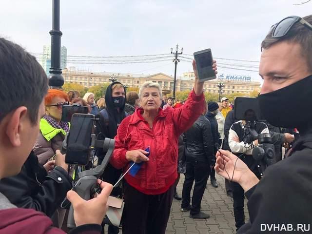 В Хабаровске после массовых задержаний возобновились акции протеста