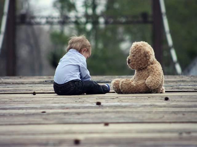 Здебільшого дітей у неповній сім'ї виховує мати або бабуся