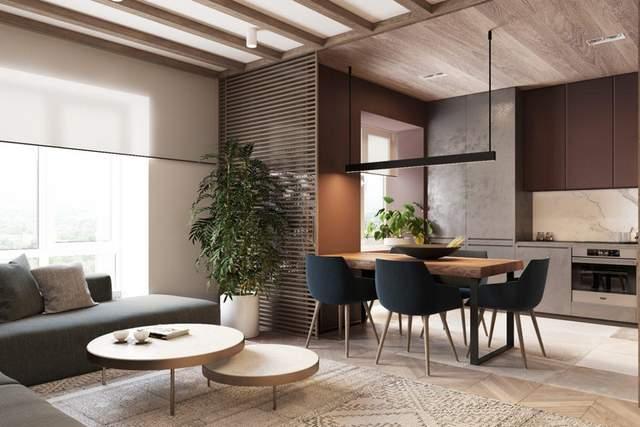 Кімнатні рослини доповнюють стиль інтер'єру