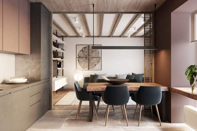 Кухня і вітальня об'єднані в спільний простір