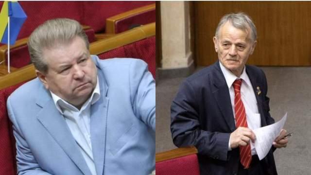 Поплавский и Джемилев