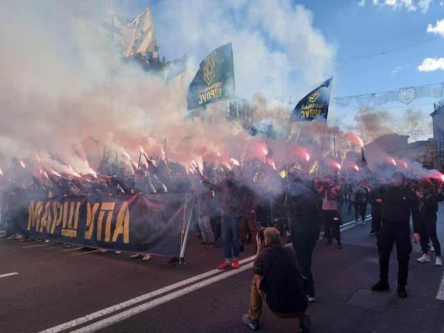 Марш УПА в Києві