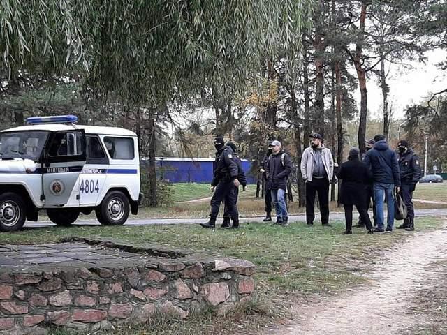 Світлогорськ, затримання, протести, Білорусь, 18 жовтня