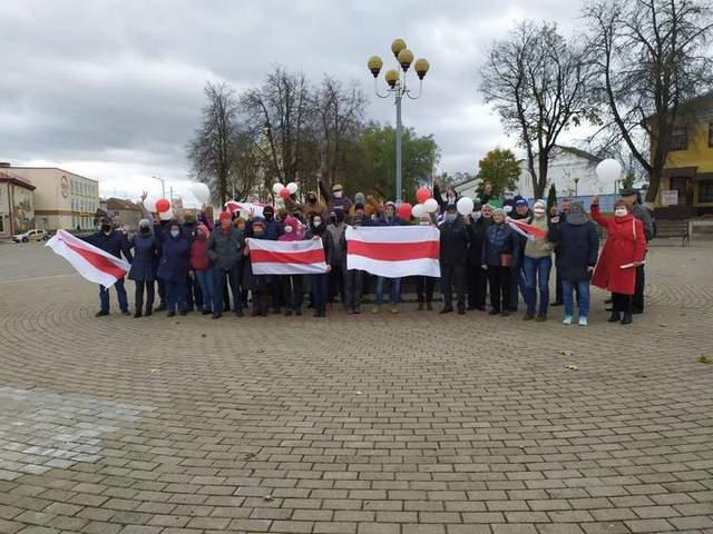 Новогрдука, Білорусь, протести