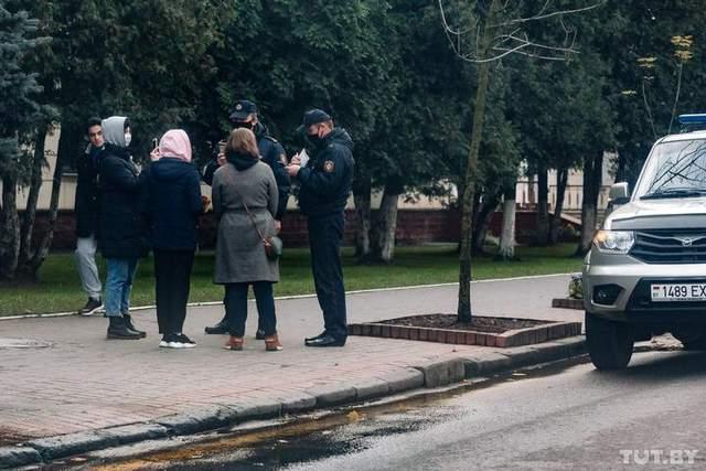 Вітебськ, протести, Білорусь, 18 жовтня