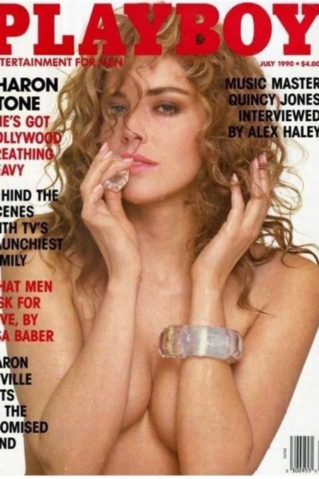 Шерон Стоун у журналі Playboy