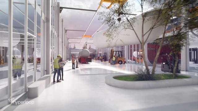 В США построят тестовую станцию Hyperloop (ФОТО) 7
