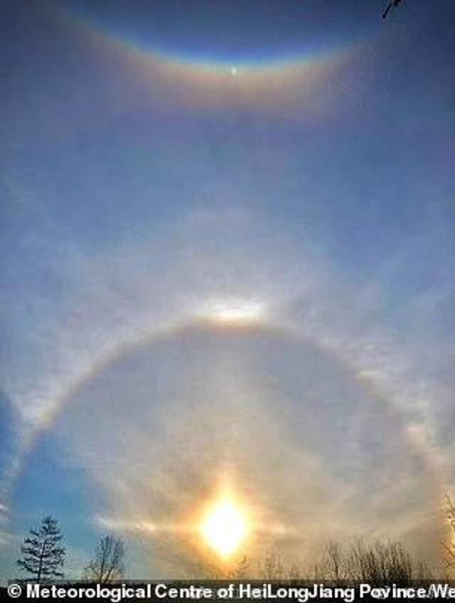Три Сонця над Китаєм 16 жовтня