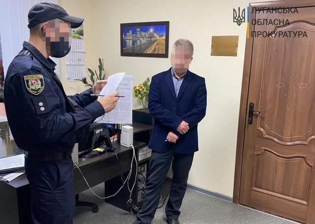 Першого заступника мера на Луганщині спіймали на хабарі