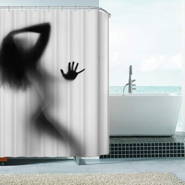 душ женщины