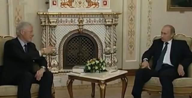 Клінтон і Путін