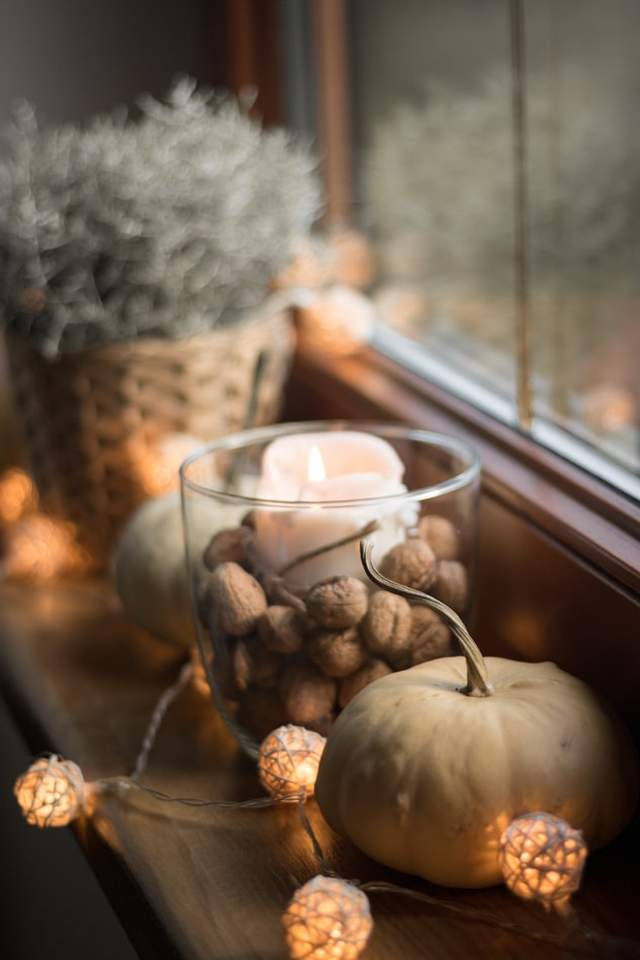 Гарбуз і пряні трави також актуальні для декору восени