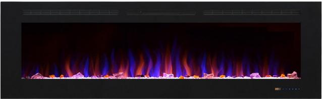 На фото электрокамин Royal Shine 72 (В*Ш*Г мм – 1830 x 550 x 140). Подробнее можно узнать на фирменном сайте royal-flame.com.ua