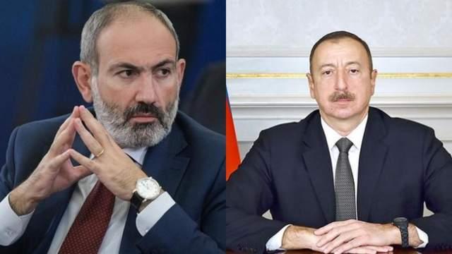 Нікол Пашинян Ільхам Алієв