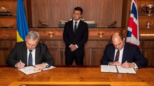 Велика Британія та Україна домовилися про співпрацю у військовій сфері