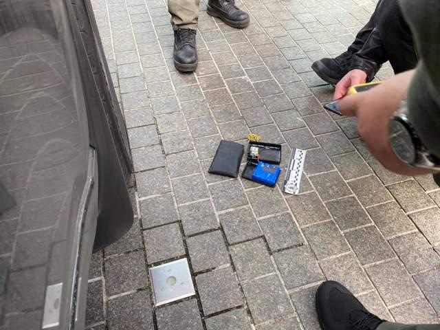 Пристрій, знайдений під авто