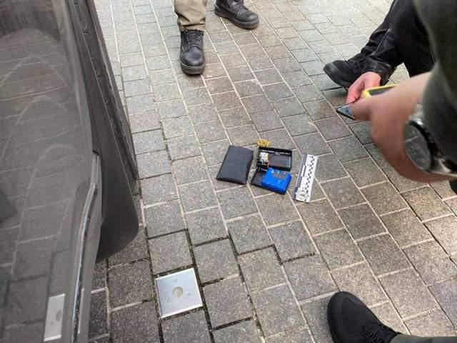 Пристрій, що Арахамія знайшов під авто